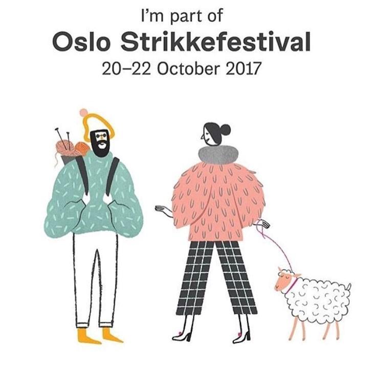 Sternchensocken & das Oslo Strikkefestival |